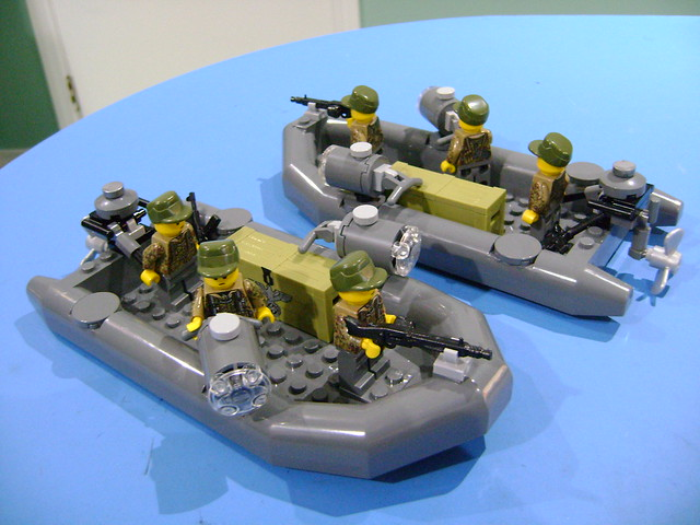 Custom Lego WW2 big, Sony DSC-S730