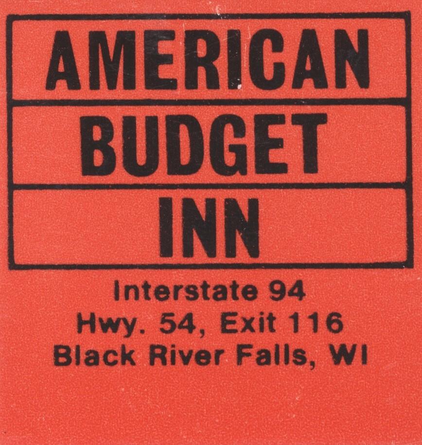 American Budget Inn - Black River Falls, Wisconsin