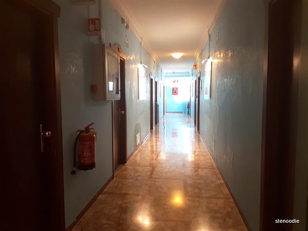 Hotel La Pace hallway