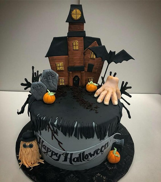 Halloween Cake by Cakes by Frosted