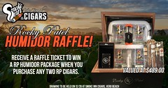 Win this Rocky Patel Humidor
