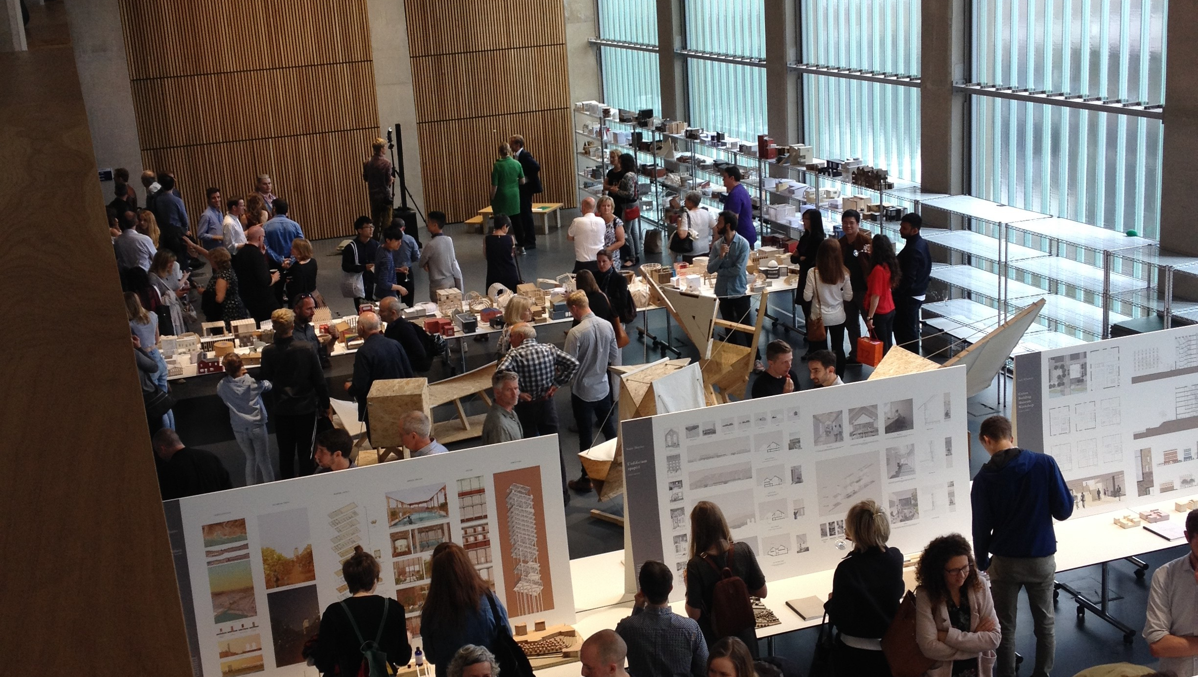 Architecture exhibition at in 4 East South.