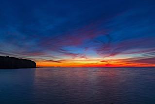 Helgoländer Sonnenuntergang.
