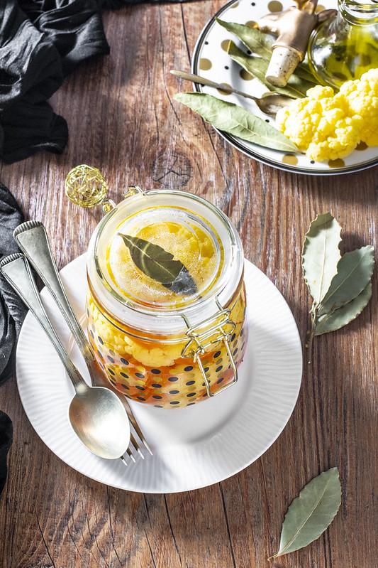 Cavolfiore sott'aceto - ricetta