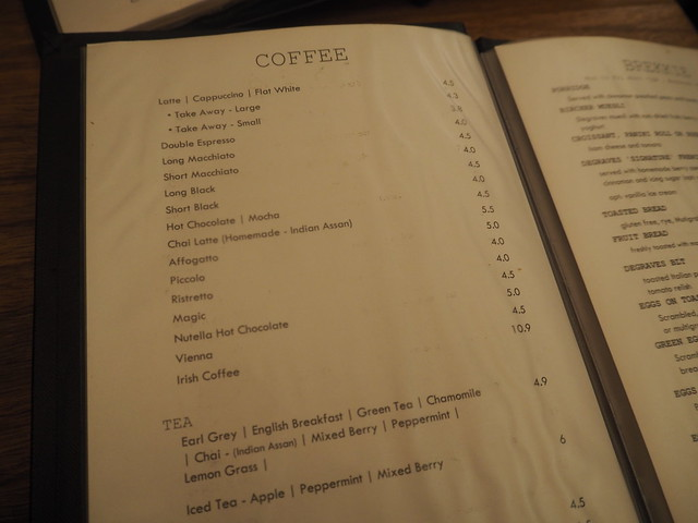 P9089690 デグレーブス・エスプレッソ・バー (Degraves Espresso Bar) メルボルン オーストラリア カフェ