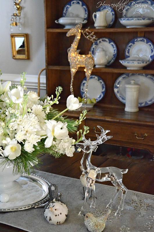 White Christmas Centerpiece-Housepitality Designs-5