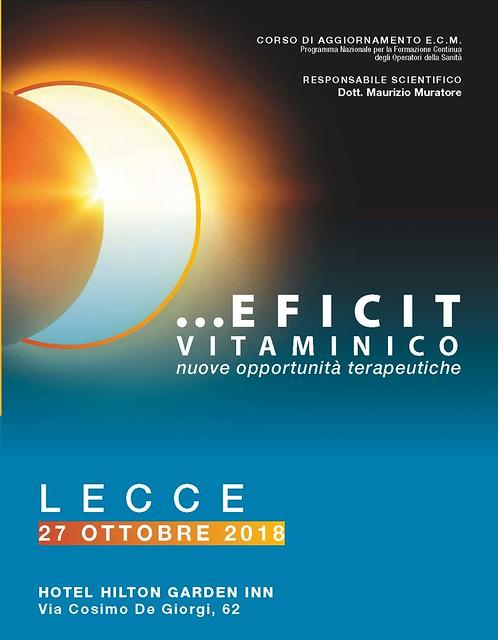 ECM LECCE 27/10/18