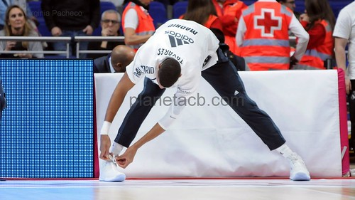 Detalles EUROLEAGUE de un Real Madrid - Panathinaikos (19-12-2018)