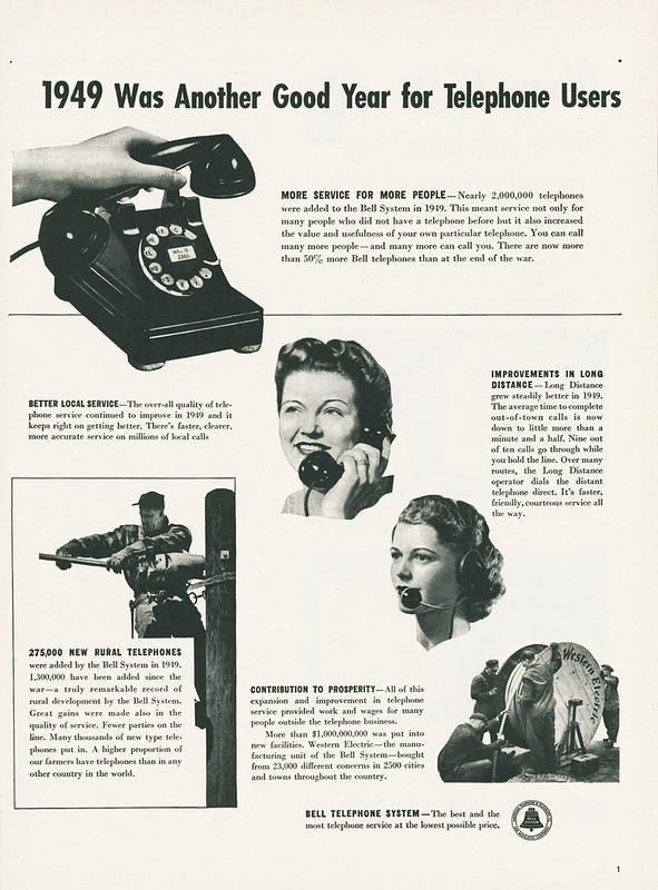 Bell Telephone System 1950