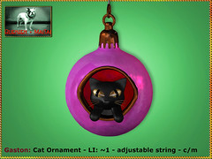 Bliensen - Gaston - Cat Ornament