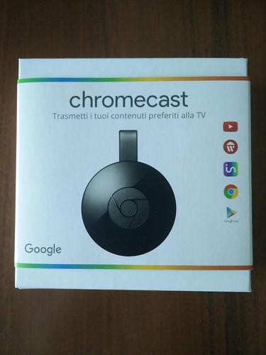 Chromecast confezione