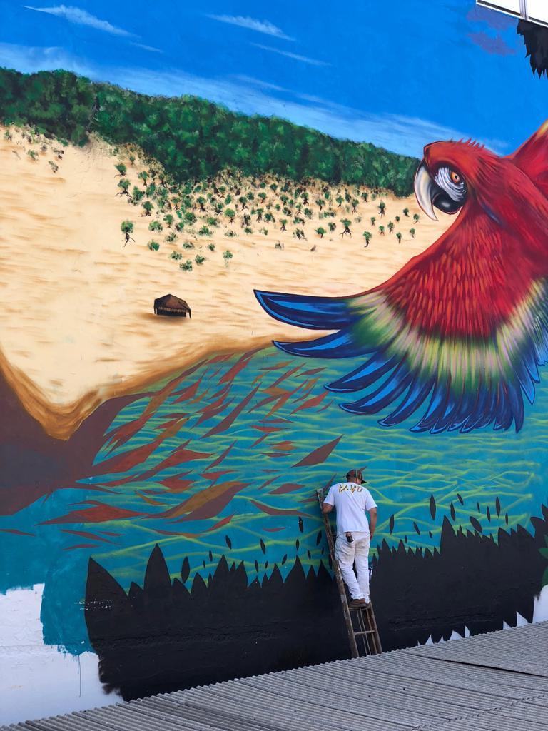 Arte urbana em Santarém