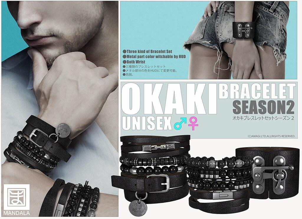 [MANDALA]OKAKI bracelet season 2 AD