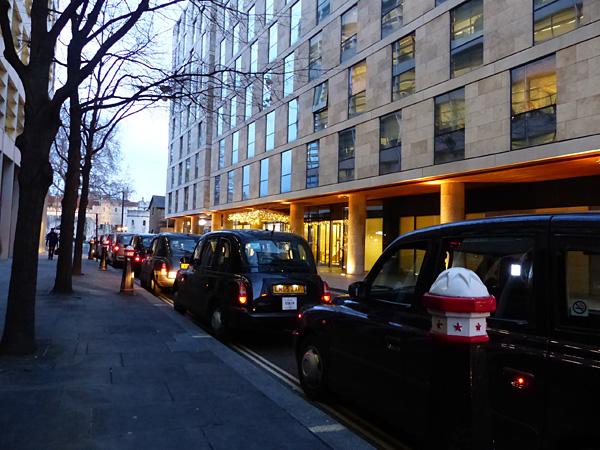 taxis dans la City