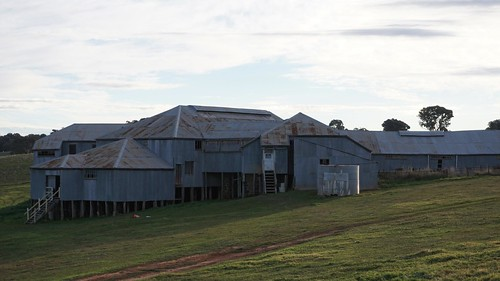 Old Errowanbang Woolshed, Carcoar, NSW