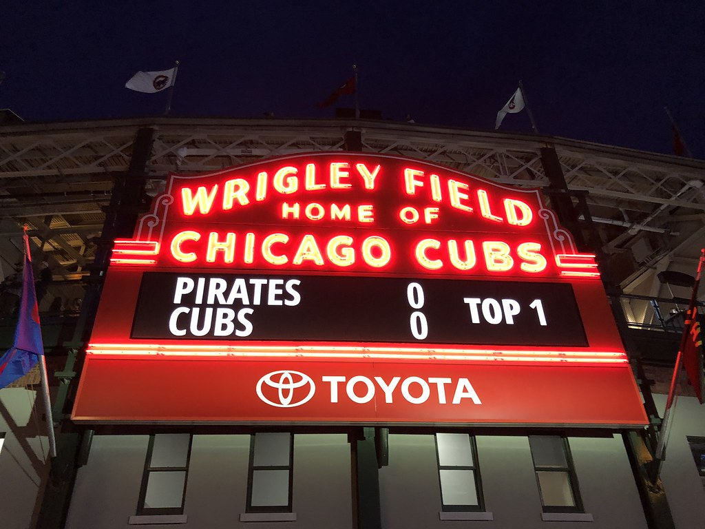 Cub's Game | 2 Days in Chicago