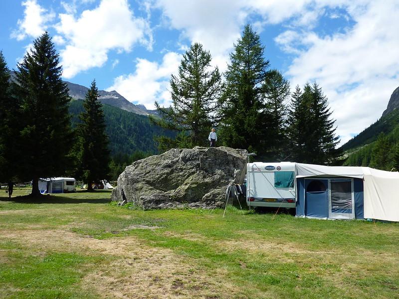 Mont Blanc Zuid, basiskamp 50+
