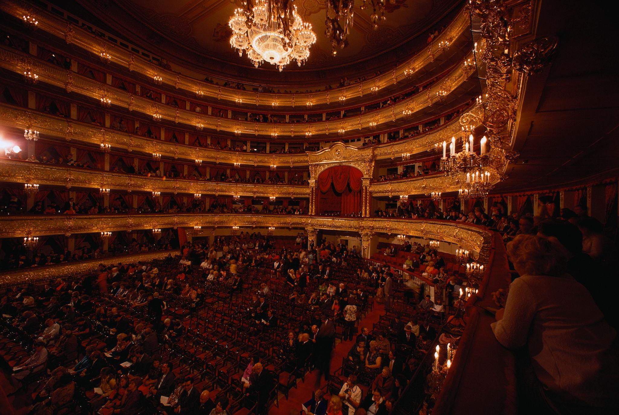 1964. Большой театр. Интерьер зала