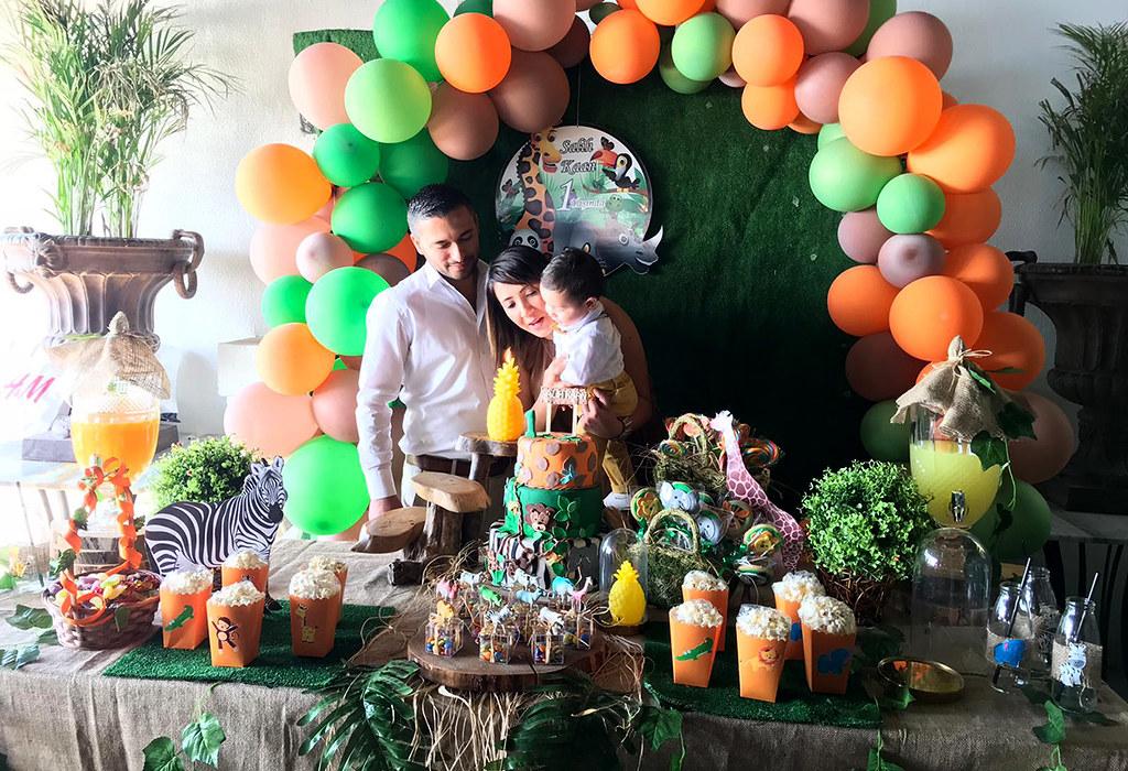 Minik Salih Kaan'a özel kutlama