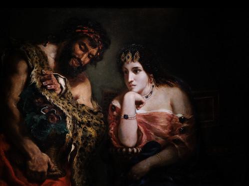 Eugène Delacroix, Cleopatra and the Peasant, 1838 10/2/18 #metmuseum #artmuseum