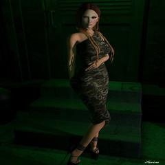 Aina Dress by Mowie NY