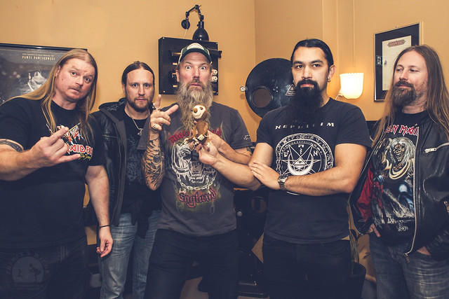 Amon Amarth screening och meet & greet