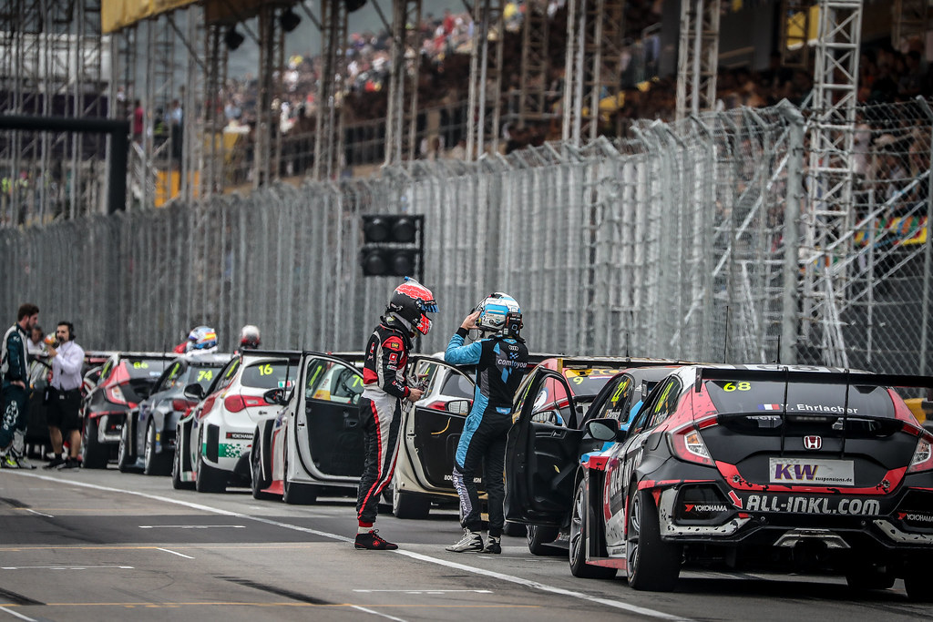 68 EHRLACHER Yann, (fra), Honda Civic TCR team ALL-INKL.COM Munnich Motorsport, action during the 2018 FIA WTCR World Touring Car cup of Macau, Circuito da Guia, from november  15 to 18 - Photo Alexandre Guillaumot / DPPI