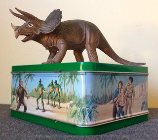 Ebony The Triceratops on Land Of The Lost lunchbox