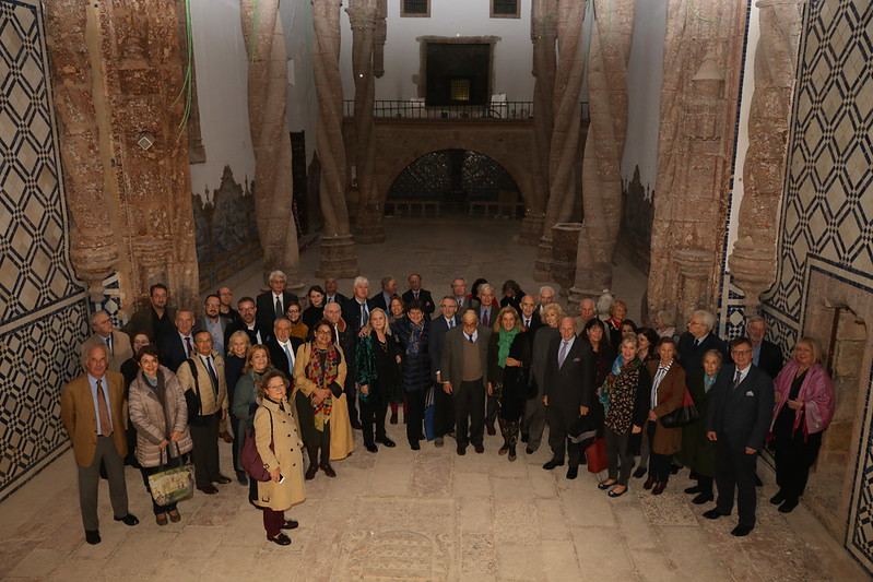 Board & Council of Europa Nostra's visit to Monastery of Jesus in Setúbal