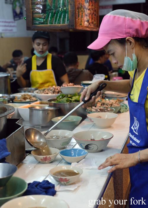 Open kitchen action at Go-Benz in Phuket Thailand