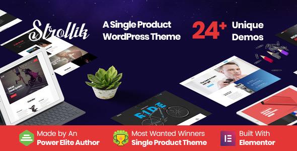 Strollik v4.0.2 – Single Product WooCommerce WordPress Theme