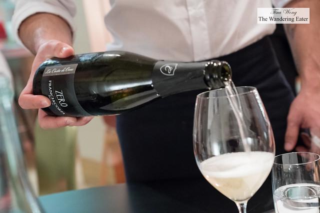 Zero Franciacorta wine