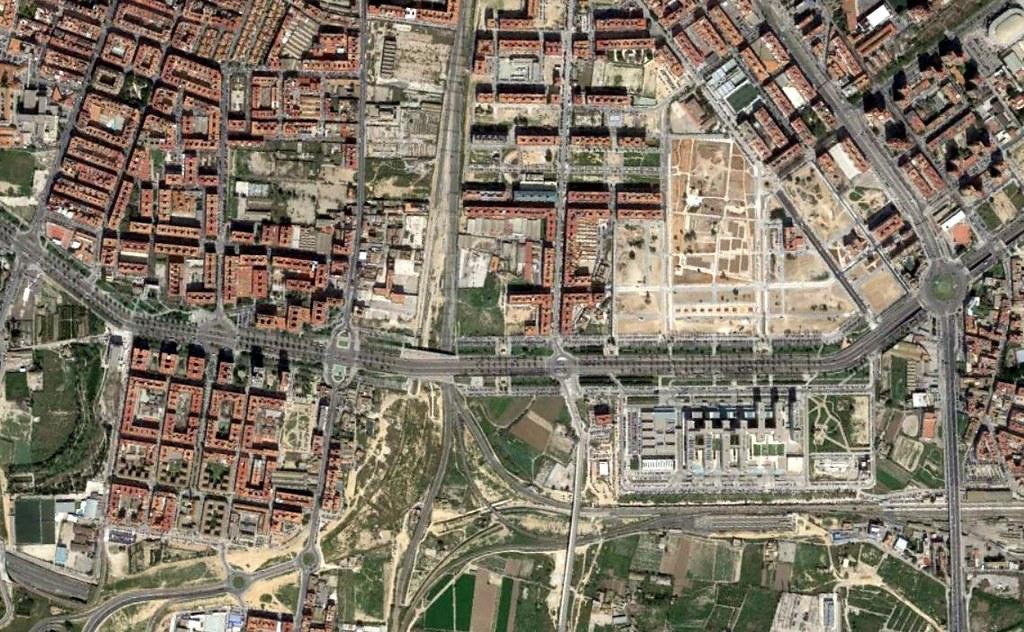 malilla, valencia, lilbad, después, urbanismo, planeamiento, urbano, desastre, urbanístico, construcción, rotondas, carretera