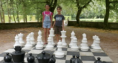 Giant Chess - Photo of Migré