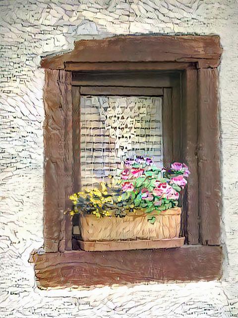 Deutsche Blumenkasten