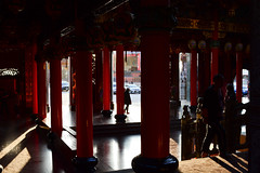 Late Afternoon Light in the Temple