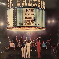 MAZE featuring FRANKIE BEVERLIE:LIVE IN NEW ORLEANS(JACKET A)