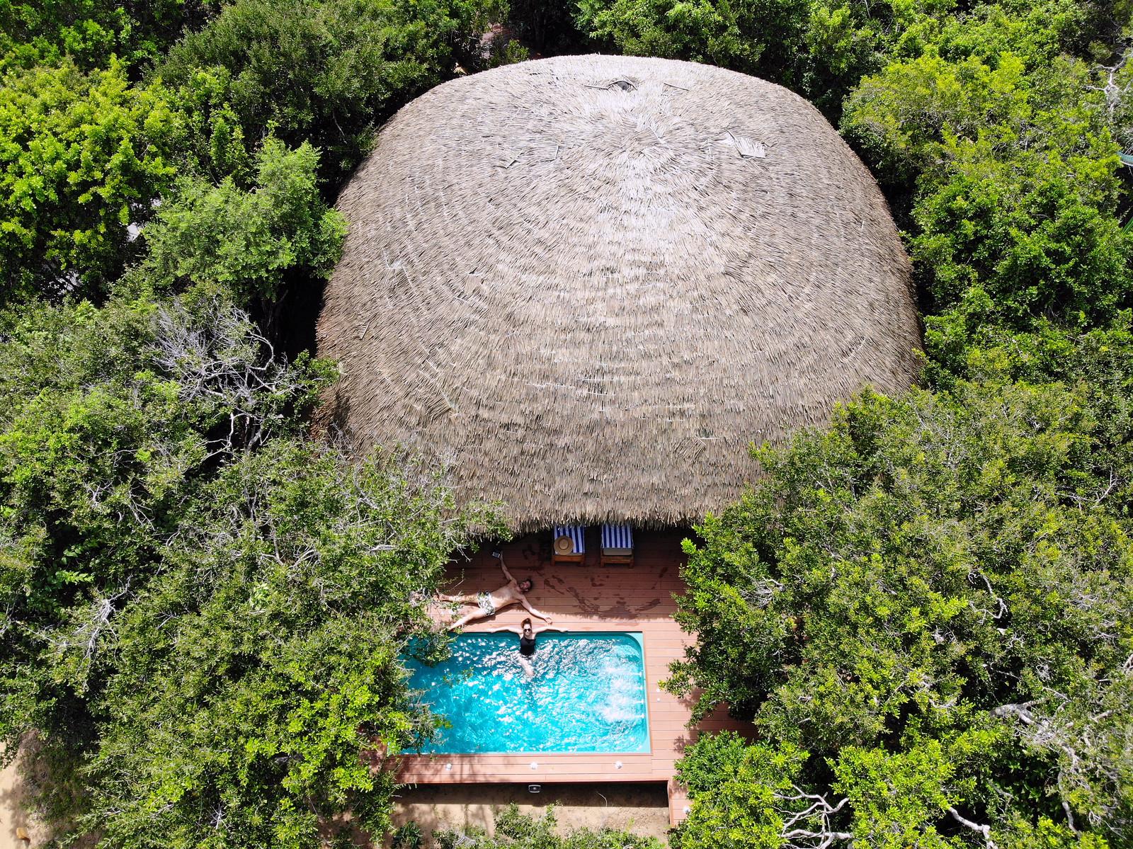 visitar el Parque Nacional de Yala en Sri Lanka, Chena Huts