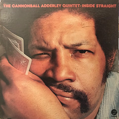 THE CANNONBALL ADDERLEY QUINTET:INSIDE STRAIGHT(JACKET A)