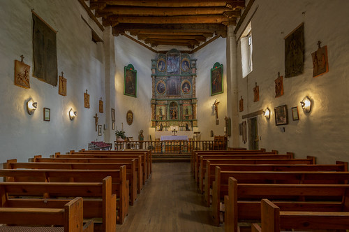 altar canontse24mmf35lii chapel church iglesia panorama pews photostitched sanmiguel tiltshift