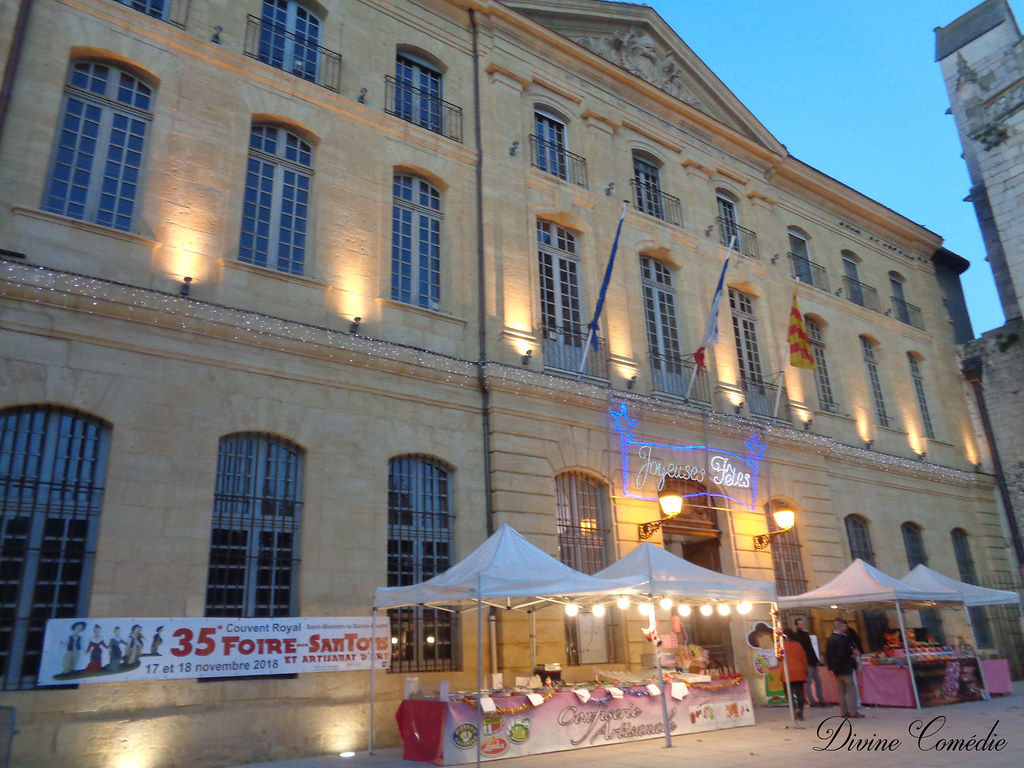 Marché santon gastronomie ST MAXIMIN 18/11/2018