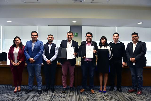Firma de Convenio de Colaboración entre el Gobierno de Tlajomulco y CIMTRA