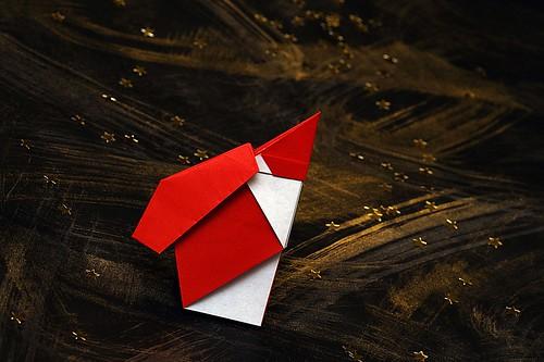 Origami Babbo Natale (Luigi Leonardi)