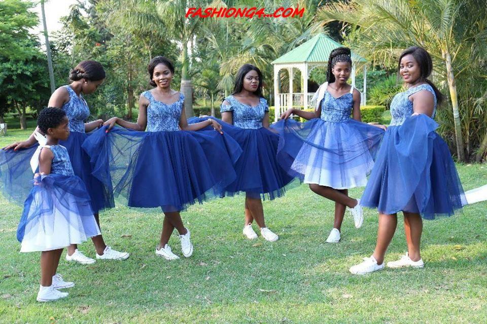 2019 Wedding Shweshwe Dresses Group Fans ⋆ Fashiong4
