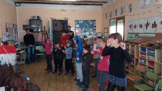 Visita del Camarlenc a la ZER
