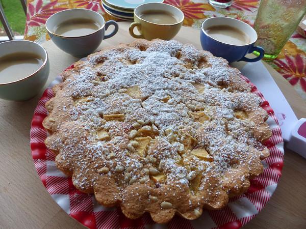 Gâteau aux pommes et à l'anis