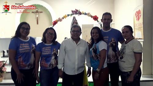 Festa a Santa Terezinha na comunidade de Lajes