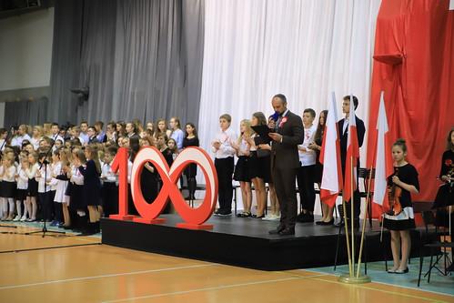 Obchody 100-lecia odzyskania niepodległości przez Polskę w Sieprawiu | Abp Marek Jędraszewski, 10.11.2018