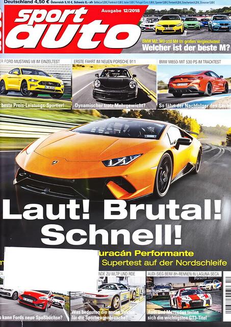 sport auto - 2018-12 - cover