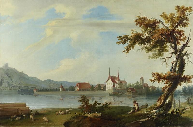 Caspar Wolf - Insel Schadau
